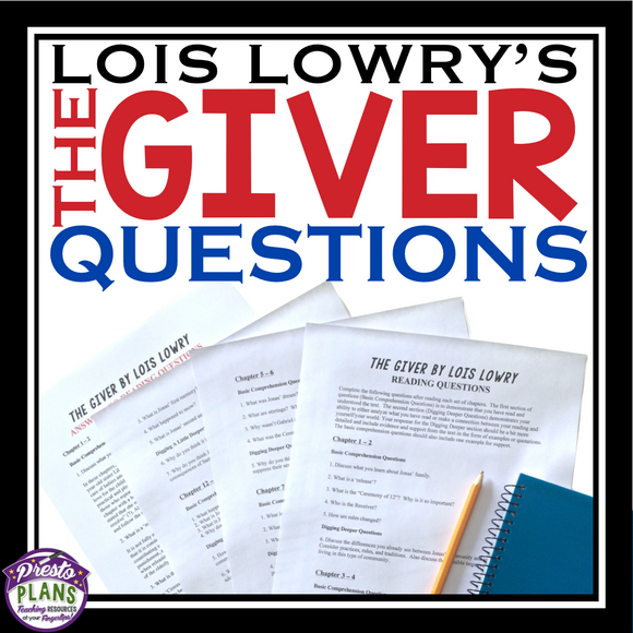GIVER QUESTIONS