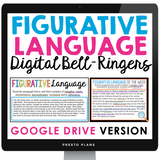 DIGITAL FIGURATIVE LANGUAGE BELL RINGERS ACTIVITY | GOOGLE DISTANCE LEARNING