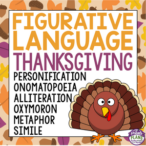 THANKSGIVING FIGURATIVE LANGUAGE