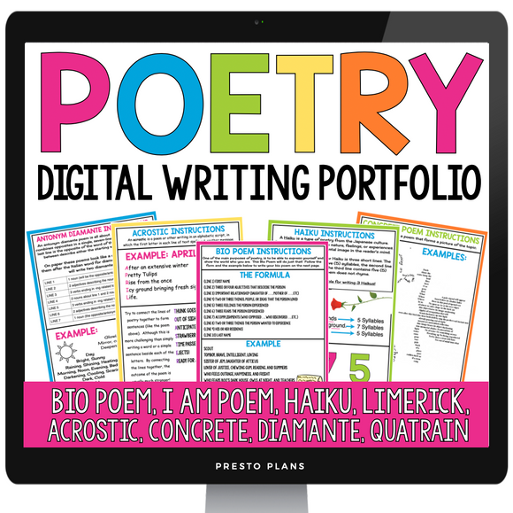 DIGITAL POETRY WRITING PORTFOLIO GOOGLE | DISTANCE LEARNING