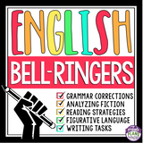 ENGLISH BELL RINGERS: GRAMMAR, READING, WRITING, & SPEAKING