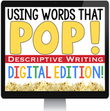DESCRIPTIVE WRITING - PAPERLESS DIGITAL GOOGLE DRIVE / GOOGLE CLASSROOM