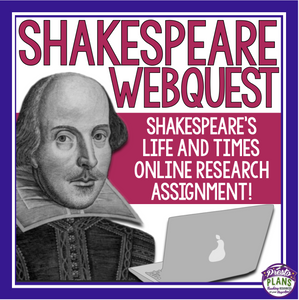 SHAKESPEARE BIOGRAPHY WEBQUEST