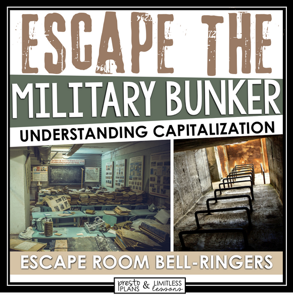 CAPITALIZATION ESCAPE ROOM BELL RINGERS