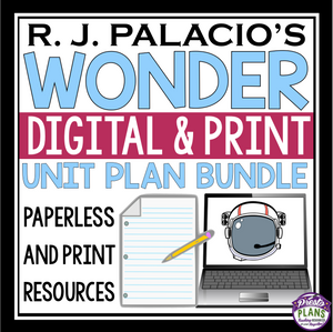 WONDER UNIT PLAN DIGITAL AND PRINT