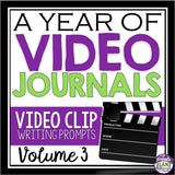 VIDEO JOURNAL WRITING: VOLUME 3