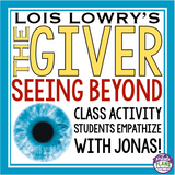 GIVER ACTIVITY: SEEING BEYOND