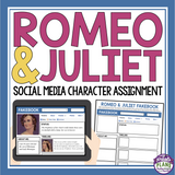 ROMEO AND JULIET ASSIGNMENT: SOCIAL MEDIA PAGE