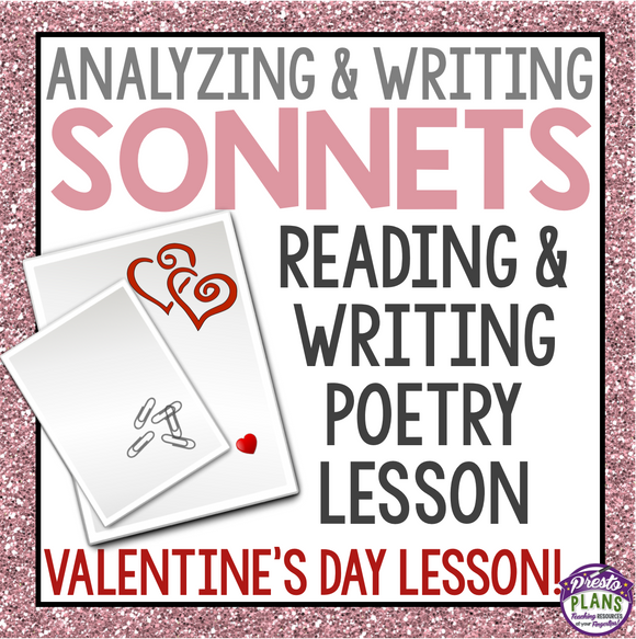 VALENTINE'S DAY WRITING: SONNET POETRY WRITING
