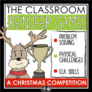 CHRISTMAS ESCAPE ROOM ACTIVITY: THE REINDEER GAMES