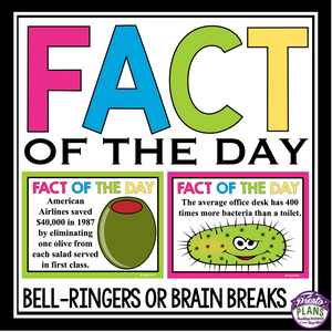 BRAIN BREAKS: FACT OF THE DAY