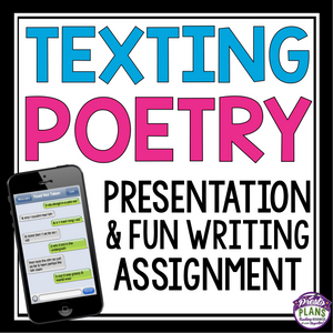 POETRY WRITING ACTIVITY: TEXTING POETRY