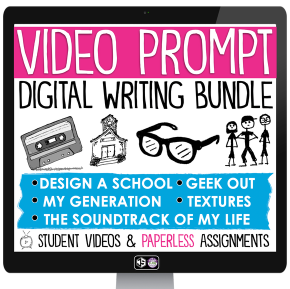 DIGITAL CREATIVE WRITING VIDEO BUNDLE - GOOGLE VERSION | DISTANCE LEARNING