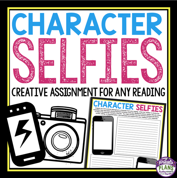 CHARACTER ASSIGNMENT - SELFIES