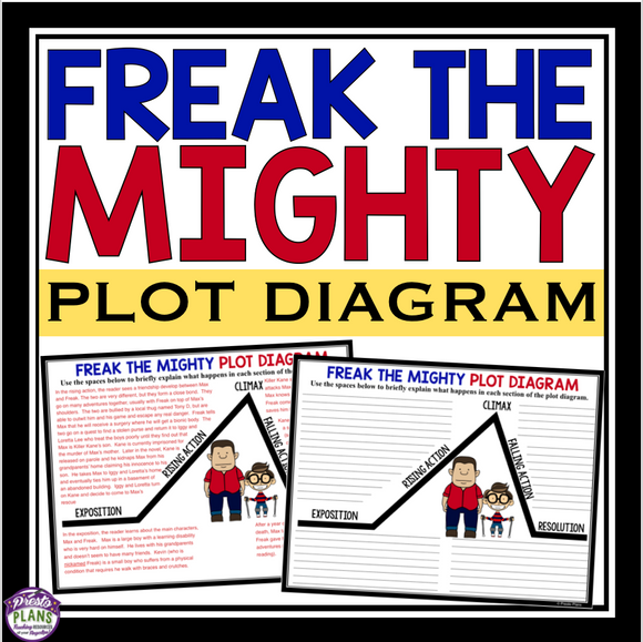 FREAK THE MIGHTY PLOT DIAGRAM