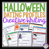 HALLOWEEN WRITING ACTIVITY: DATING PROFILES