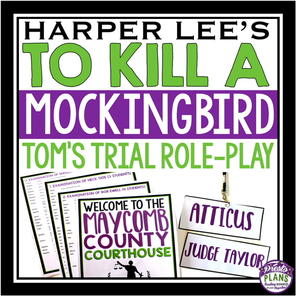 TO KILL A MOCKINGBIRD: TOM ROBINSON'S TRIAL ROLE PLAY