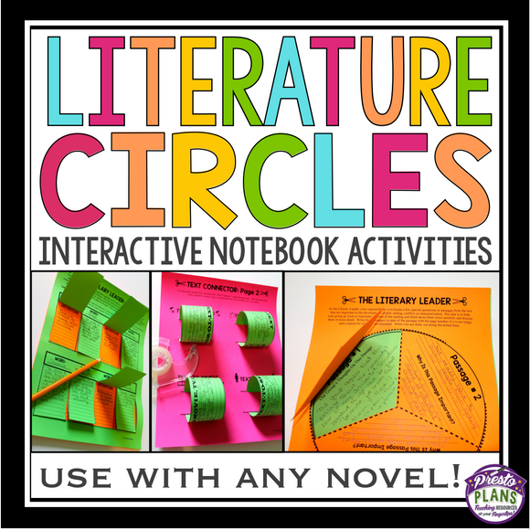 LITERATURE CIRCLE INTERACTIVE NOTEBOOK