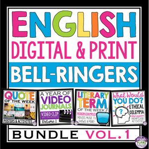 ENGLISH BELL RINGERS DIGITAL / PRINT BUNDLE (USE WITH GOOGLE DRIVE OR PRINT)