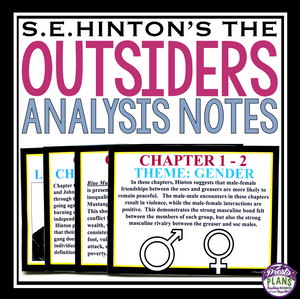 OUTSIDERS ANALYSIS PRESENTATION