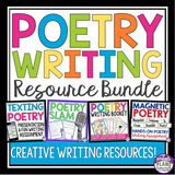 POETRY WRITING UNIT: PRESENTATIONS, ASSIGNMENTS, & ACTIVITIES BUNDLE