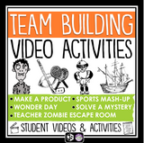 TEAM BUILDING CLASSROOM ACTIVITIES - VIDEO & ASSIGNMENTS