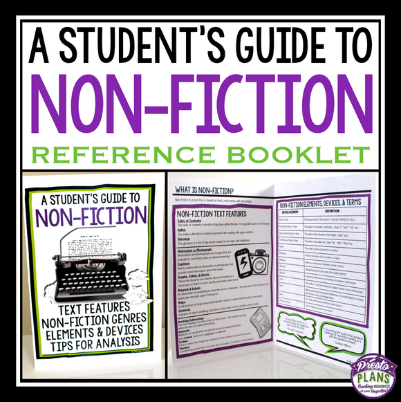 NON-FICTION STUDENT HANDBOOK