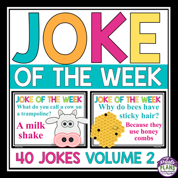 JOKE OF THE WEEK VOLUME 2