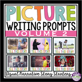 NARRATIVE WRITING PROMPTS PICTURES: VOLUME 2