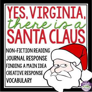 CHRISTMAS NON-FICTION: Yes, Virginia, There Is A Santa Claus