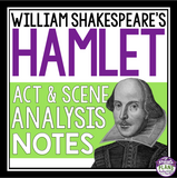 HAMLET ANALYSIS NOTES PRESENTATION