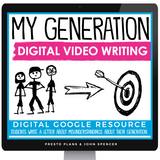 DIGITAL CREATIVE WRITING VIDEO ASSIGNMENT - MY GENERATION | DISTANCE LEARNING