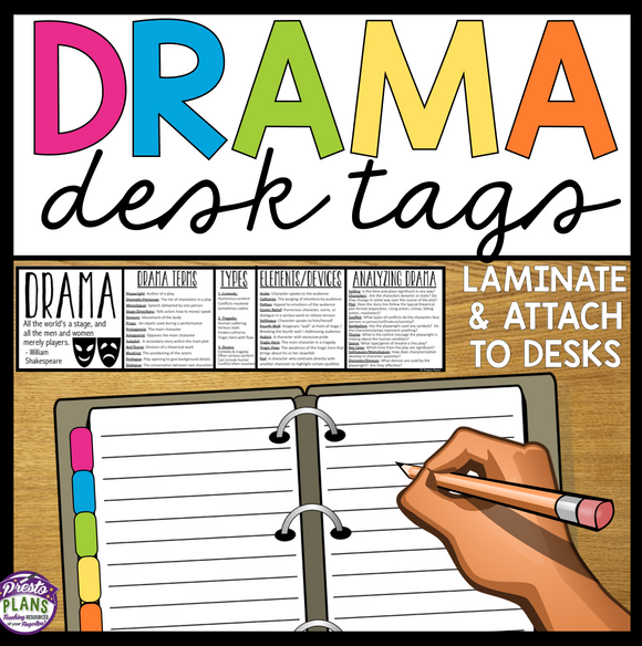 DRAMA DESK TAGS: STUDENT THEATER DRAMA REFERENCE