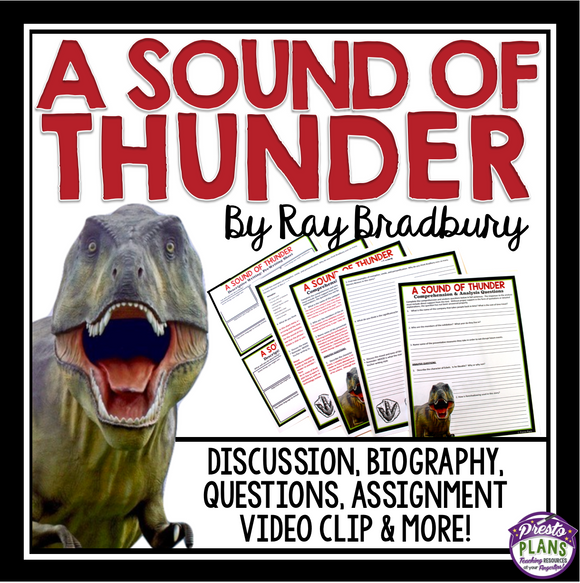 A SOUND OF THUNDER BY RAY BRADBURY