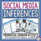INFERENCE ACTIVITY: SOCIAL MEDIA
