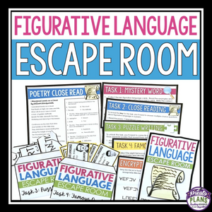 FIGURATIVE LANGUAGE ESCAPE ROOM ACTIVITY
