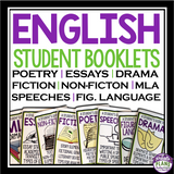 ENGLISH STUDENT REFERENCE HANDBOOKS BUNDLE