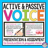 ACTIVE AND PASSIVE VOICE: INTERACTIVE SORTING ACTIVITY