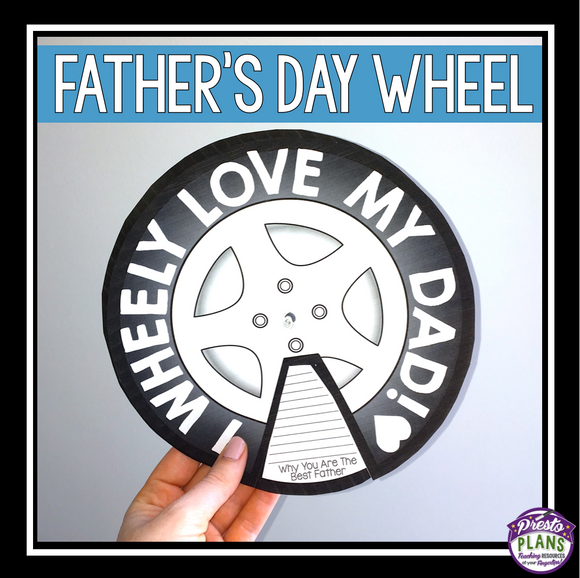 FATHER'S DAY CRAFT ACTIVITY
