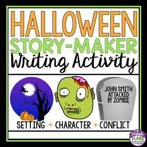 HALLOWEEN NARRATIVE STORY STARTERS / WRITING PROMPTS