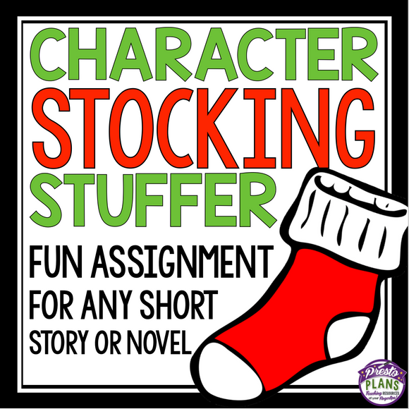 CHRISTMAS CHARACTER ANALYSIS: STOCKING STUFFER