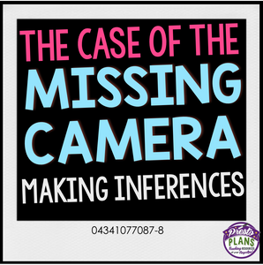 INFERENCE ACTIVITIES: CAMERA PICTURES
