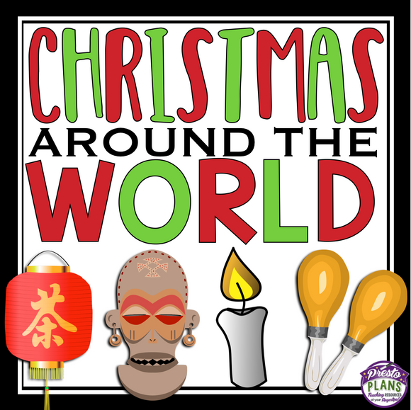 CHRISTMAS AROUND THE WORLD READING COMPREHENSION