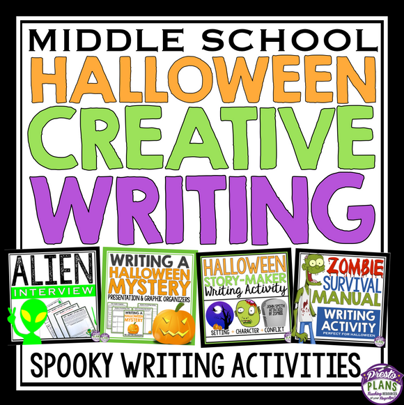 HALLOWEEN CREATIVE WRITING BUNDLE