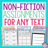 NON FICTION ASSIGNMENTS FOR ANY TEXT