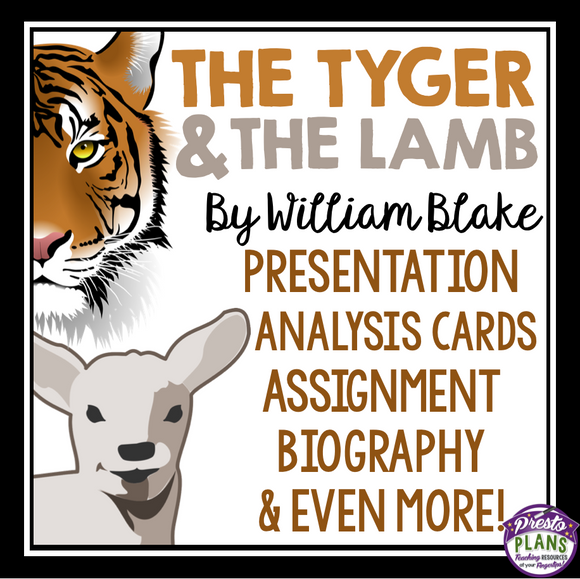 THE TYGER & THE LAMB BY WILLIAM BLAKE