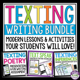CREATIVE WRITING: TEXTING BUNDLE