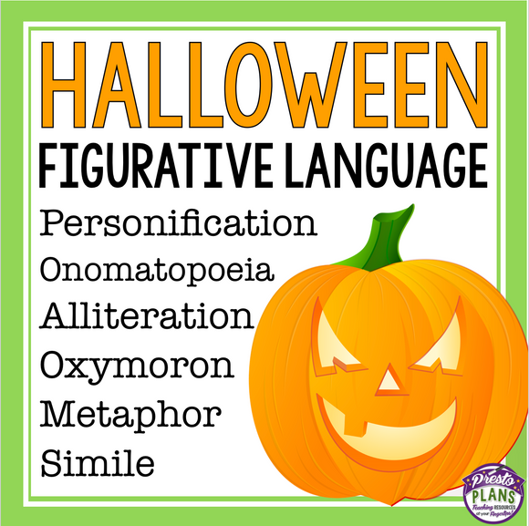 HALLOWEEN FIGURATIVE LANGUAGE