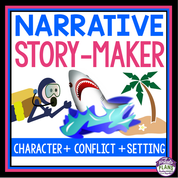NARRATIVE WRITING STORY STARTERS