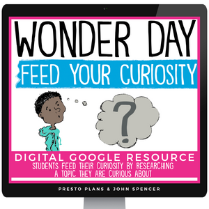 DIGITAL CREATIVE RESEARCH PROJECT - WONDER DAY GOOGLE | DISTANCE LEARNING